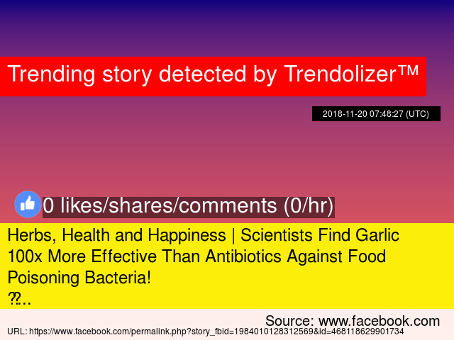 Herbs, Health and Happiness | Scientists Find Garlic 100x