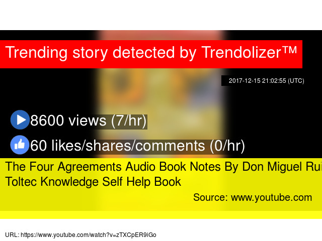The Four Agreements Audio Book Notes By Don Miguel Ruiz Toltec