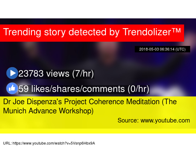 Dr Joe Dispenza's Project Coherence Meditation (The Munich